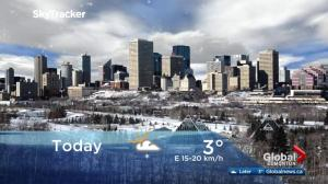 Edmonton early morning weather forecast: Wednesday, April 11, 2018