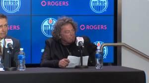Edmonton Oilers owner Daryl Katz announces Ken Holland as new GM