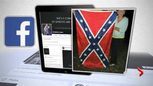Mother of bullied Tennessee boy addresses photos of family holding Confederate flags