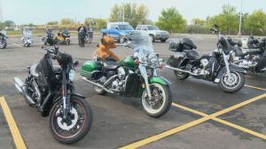 Salvation Army gets into Christmas spirit with annual Bikers Toy Run
