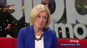 Rachel Notley on NDP Official Opposition being sworn in and holding Jason Kenney accountable