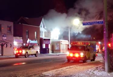 Kingston Man Rescued From Fire In Vacant Princess Street Building