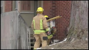 Park Street apartment fire in Peterborough