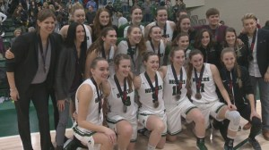 Saskatchewan Huskies women's basketball team proud of silver medal at nationals