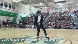 Student's Michael Jackson impersonation goes viral