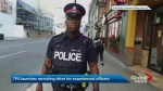 Toronto police are recruiting experienced officers after a two year hiring freeze.