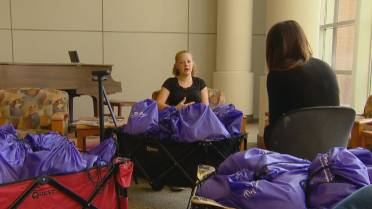 WATCH Colorado Teen Kyra Dooley Knows Its Better To Give Than Receive And Shes Showing Others By Giving Her Birthday Gifts Young Cancer Patients