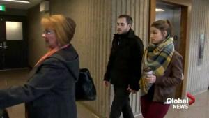 Jury watches police interview in Christopher Garnier murder trial