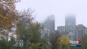 Alberta seeing wintry weather, at odds with Eastern Canada
