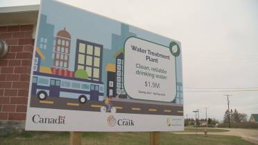 Clean drinking water comes to Craik, Sask  after nearly a