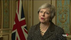 British PM offers Brexit update after meetings with EU leaders