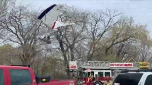Small plane crashes near Blumenort, Man., pilot airlifted to hospital