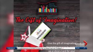 The Kingston Frontenac Public Library gives us ideas for creative gifts this season