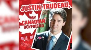'Justin Trudeau, My Canadian Boyfriend' calendar divides online opinion