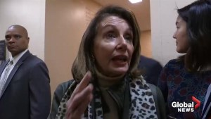 Nancy Pelosi says impeachment of Trump 'not worth it'