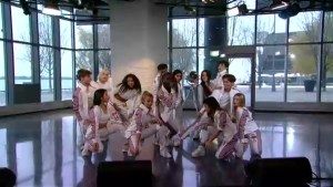 Now United perform Who Would Think That Love on The Morning Show