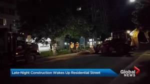 Yonge-Eglinton area residents say overnight construction keeping them awake