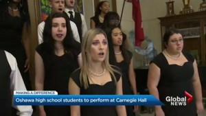 Durham high school choir set to perform at Carnegie Hall this spring