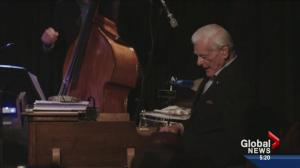 Tommy Banks up for a Juno!