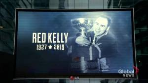 Red Kelly remembered at funeral