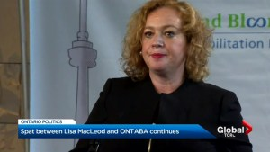 Clash between Lisa MacLeod and ONTABA continues