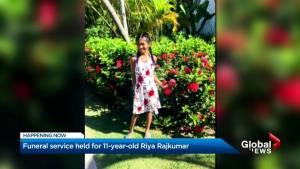 Emotional funeral Service for Riya Rajkumar