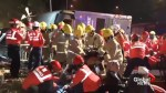 18 killed, over 60 injured in Hong Kong double-decker bus crash