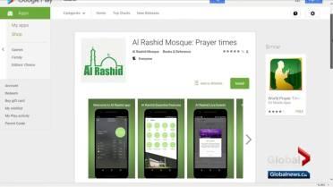 When is prayer time? Edmonton's Al Rashid Mosque has an app