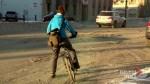 Winter bike to work day in Saskatoon