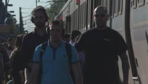 REM construction blamed for commuter delays (01:54)