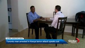 Canadian man arrested after deadly Kenyan attck returns home