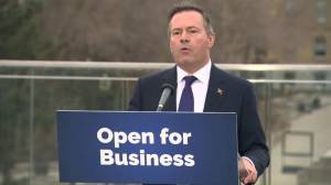 Kenney calls election 'mandate of historic proportions' (01:36)
