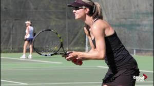 First annual Edmonton Women's Open tennis tournament