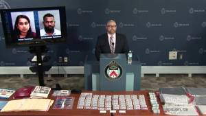 Ontario couple arrested in multi-million dollar fraud and money-laundering scheme (01:10)