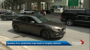City of Toronto too slow to act on 'Spadina Pedestrian Trap': council candidate