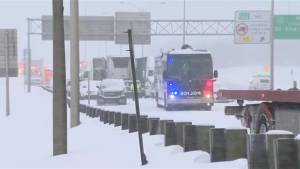 1 dead, 2 seriously injured in 50-vehicle pile-up in Montreal