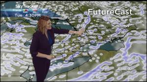 Risk of frostbite overnight as temperatures drop well below seasonal