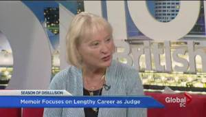Marie Corbett pens memoir about life as a female judge