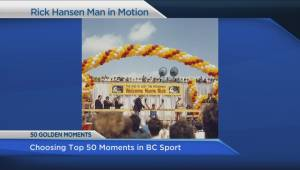 Help choose the 50 golden moments in BC sporting history