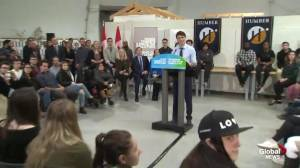 Trudeau responds to Conservatives against carbon tax plan