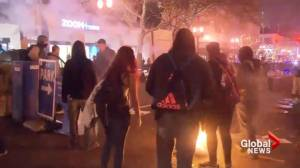 Portland descends into chaos as anti-Trump riots break out