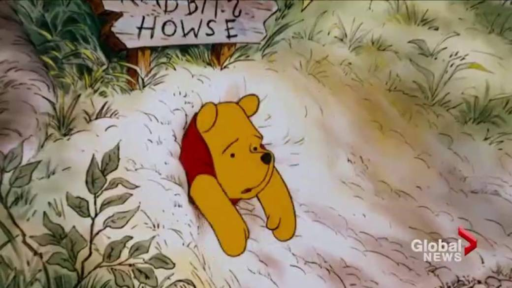 Click to play video 'China censors bothered by Winnie the Pooh'