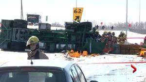 Fatal crash on Hwy. 15 snarls traffic