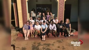 University of Lethbridge students help on multiple health fronts in Africa