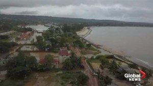 Serious flooding in Mozambique in wake of Cyclone Kenneth