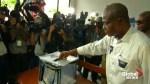 Martin Fayulu, Emmanuel Ramazani Shadary cast ballots in Democratic Republic of Congo election
