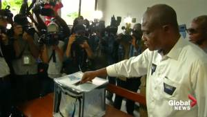 Martin Fayulu, Emmanuel Ramazani Shadary cast ballots in Democratic Republic of Congo election
