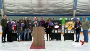 Lethbridge Minor Hockey pays tribute to Humboldt Bronco Logan Boulet