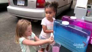 Ajax kids sell lemonade for child battling cancer