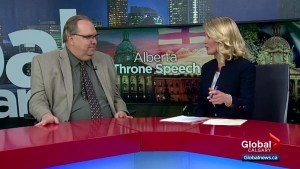 MRU's Duane Bratt dissects Alberta throne speech